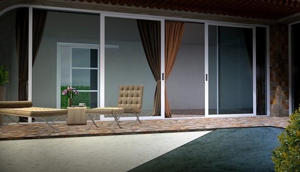 O fechamento de área com vidro proporciona a criação de ambientes incríveis